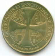 ARTHUS BERTRAND CATHEDRAL AND SANCTUARY OF FRANCE,CATHÉDRALES ET SANCTUAIRES DE FRANCE DIAM. 3cm - 2011