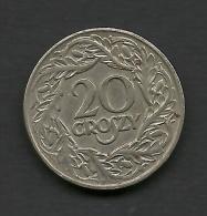 20 G. 1923, Poland. - Polen