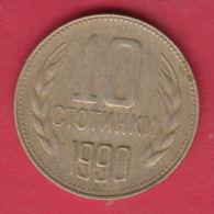 F6615 / - 10 Stotinki - 1990 - Bulgaria Bulgarie Bulgarien Bulgarije - Coins Monnaies Munzen - Bulgaria