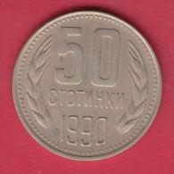 F6626 / - 50 Stotinki - 1990 - Bulgaria Bulgarie Bulgarien Bulgarije - Coins Monnaies Munzen - Bulgaria
