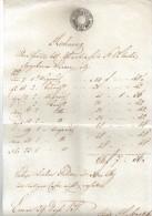 DOK36 ÖSTERREICH  1838 RECHNUNG Vom 29.Dez.1838 Göße Ca 22 X 34 Cm SIEHE ABBILDUNG - Österreich