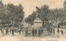 BEZIERS LA STATUE PAUL RIQUET - Beziers
