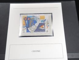 CHYPRE -  Bloc Luxe Avec Texte Explicatif - Belle Qualité - À Voir -  N° 11530 - Zypern