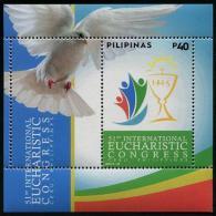 Philippines 2015 Eucharistic Congress Souvenir Sheet MNH** - Filipinas