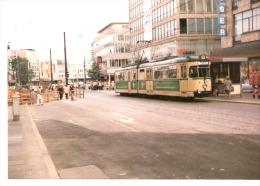 Photo Originale-Foto Tram Strassenbahn Tramway-Linie-310-Bochum -Bongardstrasse (Weiser-SinnLeffers) - Eisenbahnen