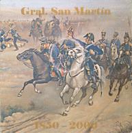 ARGENTINA Blister Argentina 2000 50 Centavos San Martín Cj# Bl 13 Numero 2255 - Argentina