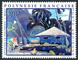 POLYNESIE 1971 - Yv. PA 55 ** TB  Cote= 10,00 EUR - Tableau D'I. Wolf ..Réf.POL23071 - Airmail