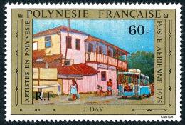POLYNESIE 1975 - Yv. PA 100 **   Cote= 11,00 EUR - Tableau De J Day ..Réf.POL22840 - Poste Aérienne