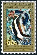 POLYNESIE 1975 - Yv. PA 101 ** TB  Cote= 15,00 EUR - Tableau De J Steimetz ..Réf.POL22841 - Poste Aérienne