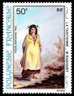 POLYNESIE 1982 - Yv. PA 170 **   Cote= 2,80 EUR - Tableau De M.Radiguet, 19e Siècle ..Réf.POL23093 - Poste Aérienne
