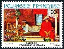 POLYNESIE 1983 - Yv. PA 181 **   Cote= 3,90 EUR - Tableau De C. Lemoine, 20e Siècle ..Réf.POL23100 - Poste Aérienne