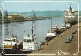 ROUEN -- Le Port -- - Rouen
