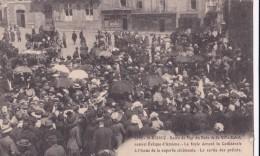 Carte 1910 ST BRIEUC / Sacre De Monseigneur Du Bois De La Ville Rabel : Cérémonie:la Sortie Des Prélats (très Animée) - Saint-Brieuc