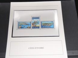 COTE D IVOIRE -  Bloc Luxe Avec Texte Explicatif - Belle Qualité - À Voir -  N° 11552 - Côte D'Ivoire (1960-...)