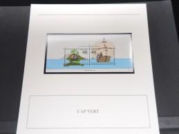 CAP VERT -  Bloc Luxe Avec Texte Explicatif - Belle Qualité - À Voir -  N° 11553 - Cape Verde