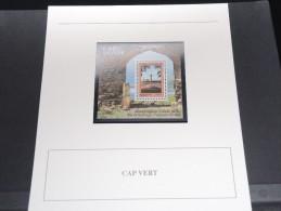 CAP VERT -  Bloc Luxe Avec Texte Explicatif - Belle Qualité - À Voir -  N° 11554 - Cap Vert