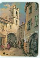 CAGNES-sur-MER / D' Après Peinture De H. BARRY - Cagnes-sur-Mer