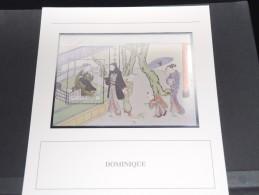 DOMINIQUE -  Bloc Luxe Avec Texte Explicatif - Belle Qualité - À Voir -  N° 11558 - Dominique (1978-...)