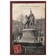 Paris  La Fayette Et Washington  168  BF Paris - Statues