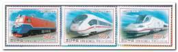 Korea Noord 2012 Postfris MNH Trains - Korea (Noord)