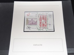 ESPAGNE -  Bloc Luxe Avec Texte Explicatif - Belle Qualité - À Voir -  N° 11561 - Blocs & Feuillets