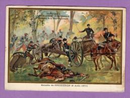 Chocolaterie D Aiguebelle Monastere De La Trappe Bataille De Spicheren 1870 Defense De L Usine De Stiring - Cioccolato