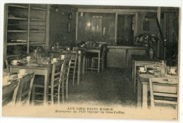 75 - PARIS - AUX CINQ PAINS D´ORGE - RESTAURANT DU PETIT OUVROIR DU GROS CAILLOU - Cafés, Hôtels, Restaurants