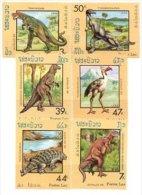 Laos 1988 Set/6- Dinosaurs Prehistoric #860-5 - Laos