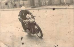 Moto - Georges Houel, Sur Norton 500cc, Grd Prix De Paris 30 Mai 1943 (pas Une Carte Postale) - Sportifs