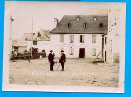 Espagne Catalogne Val D'Aran - VIELHA En 1911, Place De La Constitution - PHOTO - Voir Scans - Lieux