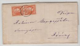 Gr-H014 / GRIECHENLAND -  Hermes, Mi.Nr. 56c, Senkrechtes Paar, Verwendet 1888 - 1861-86 Large Hermes Heads