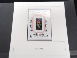 EGYPTE -  Bloc Luxe Avec Texte Explicatif - Belle Qualité - À Voir -  N° 11573 - Blocks & Sheetlets