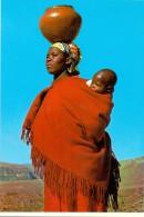 VÖLKERKUNDE / ETHNIC - Lesotho, Women With Clay Pot - Lesotho