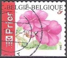 Belgique 2004 COB 3318A O Cote (2016) 2.60 Euro Impatiens Cachet Rond - Belgien
