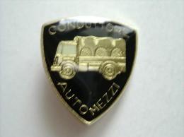 Pins Insigne  Militare Conduttore Automezzi  Car  Auto  Camion   Condizioni Perfette - Army