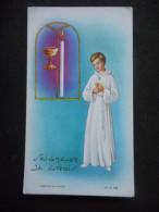 """IMAGE COMMUNION """"Jacques BOURRASQUET PICHARD - Eglise St Médard - 1967"""" (MD 15= - Religion & Esotérisme"""