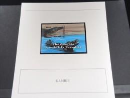 GAMBIE -  Bloc Luxe Avec Texte Explicatif - Belle Qualité - À Voir -  N° 11578 - Gambia (1965-...)
