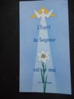 "IMAGE Pieuse ""J'AI RECU L'ESPRIT SAINT"" - 1971(Italie AR 20603 4 - Religion & Esotérisme"