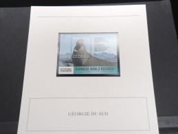 GEORGIE -  Bloc Luxe Avec Texte Explicatif - Belle Qualité - À Voir -  N° 11579 - Géorgie
