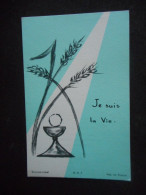 """IMAGE COMMUNION """"Jean TAYLOR - Eglise Du Sacré Coeur - 1966 (BOUASSE LEBEL H K 7) - Religion & Esotérisme"""