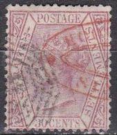 STRAITS SETTLEMENTS 1867 Queen Victoria 30 Ct Red SG 69 - Groot-Brittannië (oude Kolonies En Protectoraten)