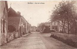 71 SAONE ET LOIRE - SAINT YAN Rue De La Poste - France