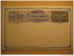 3 Centavos Tarjeta Entero Postal Stationery Card Entier Postaux Carte Postale Guatemala - Guatemala
