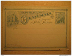 3 Centavos Tarjeta Entero Postal Stationery Card Entier Postaux Carte Postale Interior Guatemala - Guatemala