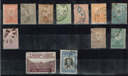 Bulgarien 1889/1911, Michel# 28 - 37, Z4 + 84 O - 1879-08 Principalty