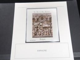 ESPAGNE -  Bloc Luxe Avec Texte Explicatif - Belle Qualité - À Voir -  N° 11586 - Blocs & Feuillets