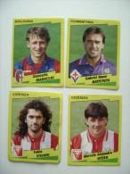 4  FIGURINE  CALCIATORI  PANINI  ANNO  1996/1997  COME DA FOTO  CALCIO FOOTBALL  SOCCER  FUTBOL FOTBOLL  FOTBALOVY - Edizione Italiana