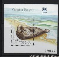 LOT 645  - POLOGNE BF N° 142 **- PHOQUE - Cote  2.00  € - Marine Mammals