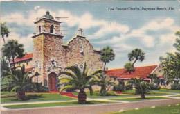 Florida Daytona Beeach The Tourist Church 1953