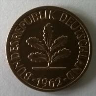 2 Pfennig 1962 F - - [ 7] 1949-… : FRG - Fed. Rep. Germany